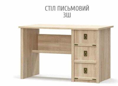 Валенсия Стол 3Ш (Мебель Сервис)