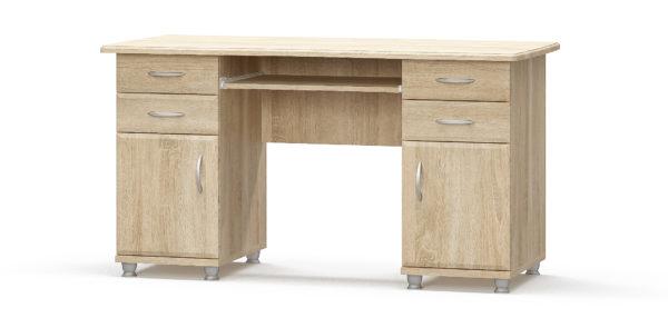 Стол письменный двухтумбовый Мебель Сервис