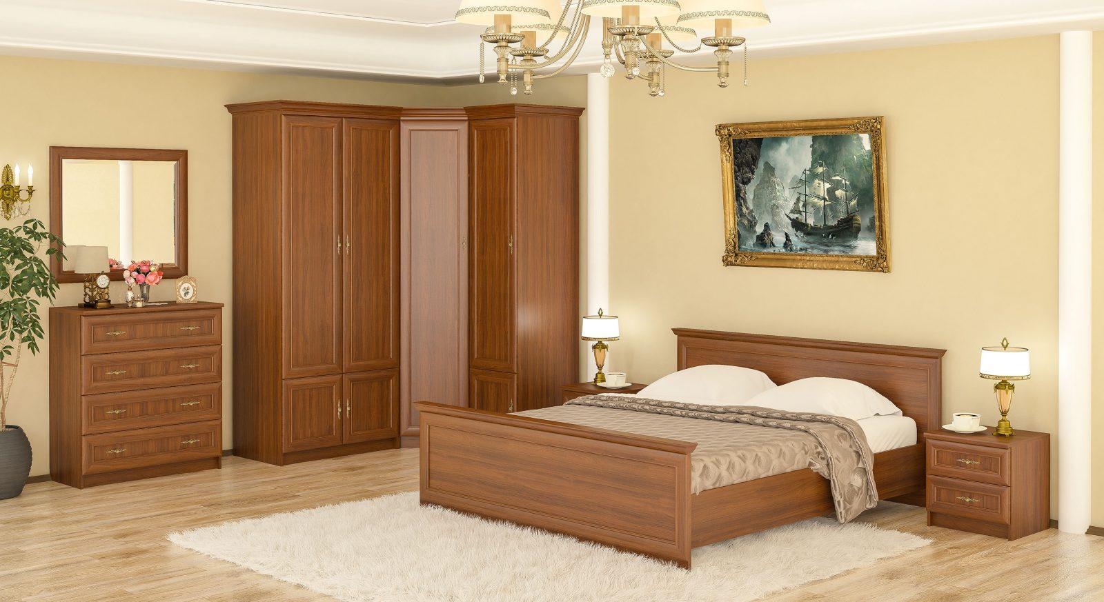 Даллас вишня спальня