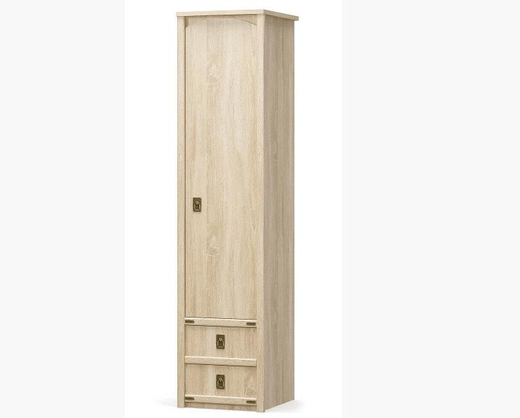 Валенсия Пенал 1д +2ш (Мебель Сервис)