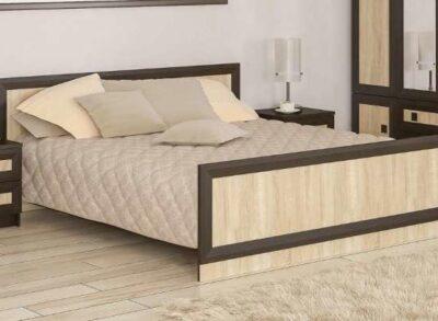 Даллас кровать венге-самоа