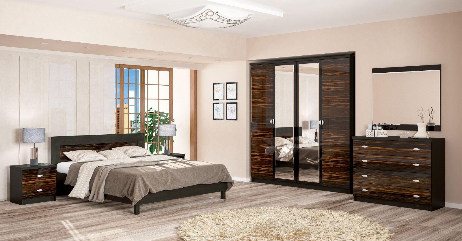 Спальня Ева Мебель Сервис макассар