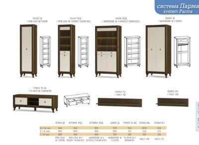 Система Парма (Мебель Сервис)
