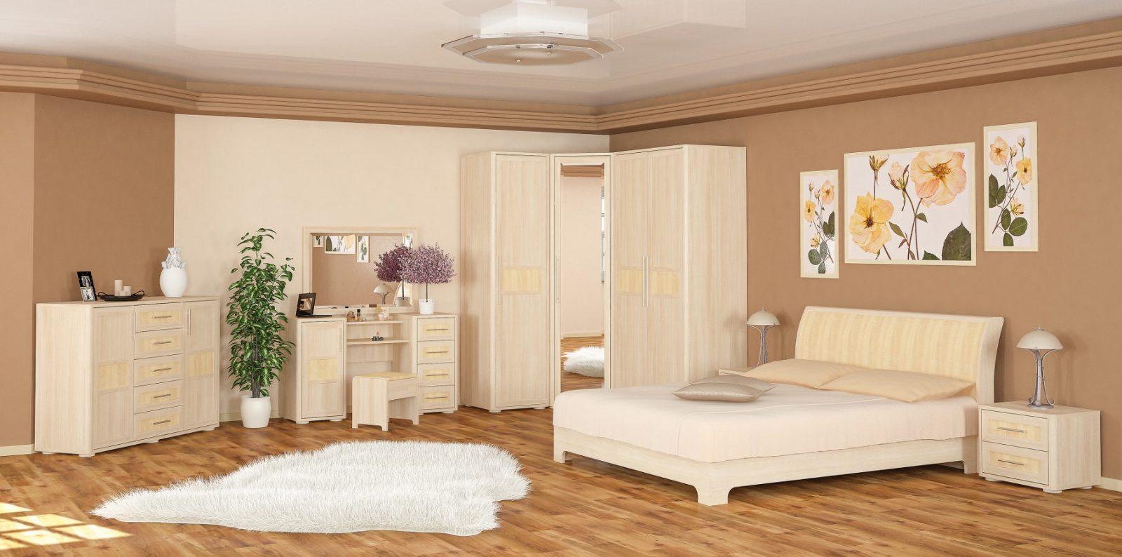 Токио спальня комплект (Мебель Сервис)