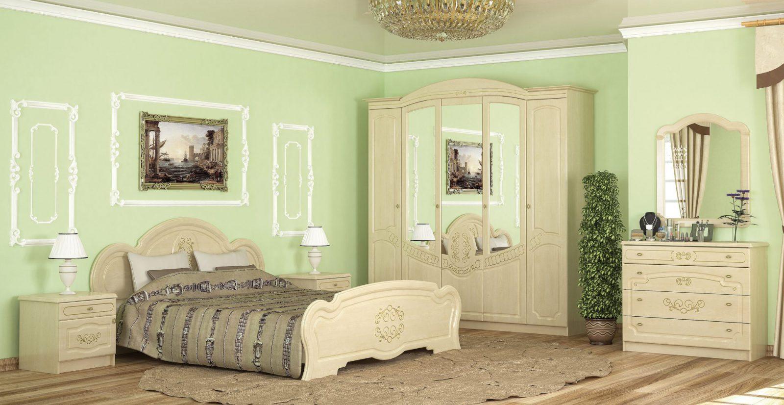 Барокко Прикроватные тумбы (2 шт.) Мебель Сервис