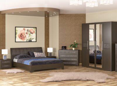Токио спальня ВЕНГЕ Мебель сервис