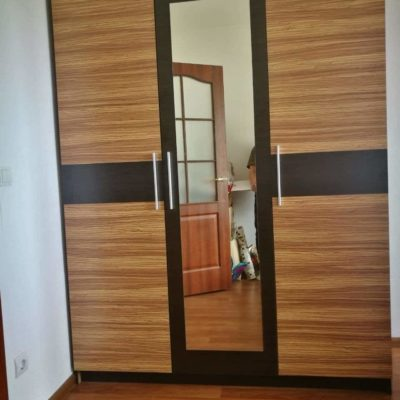 Спальня Вероника зебранно (Мебель Сервис)