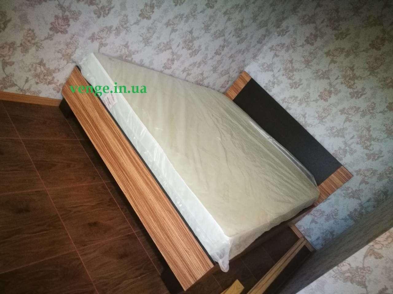 Вероника кровать зебрано (Мебель Сервис)
