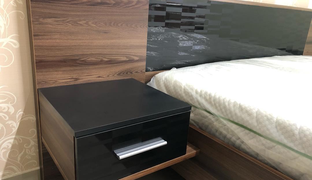 Фиеста Кровать ламель + Тумбы прикроватные (Мебель Сервис)