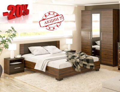 Вероника спальня (Мебель Сервис)