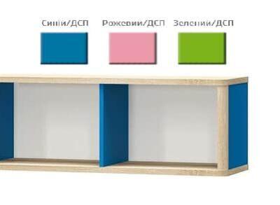 Полка Лео (Мебель Сервис)