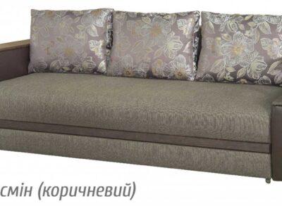 Персей диван раскладной (Мебель Сервис) жасмин коричневый
