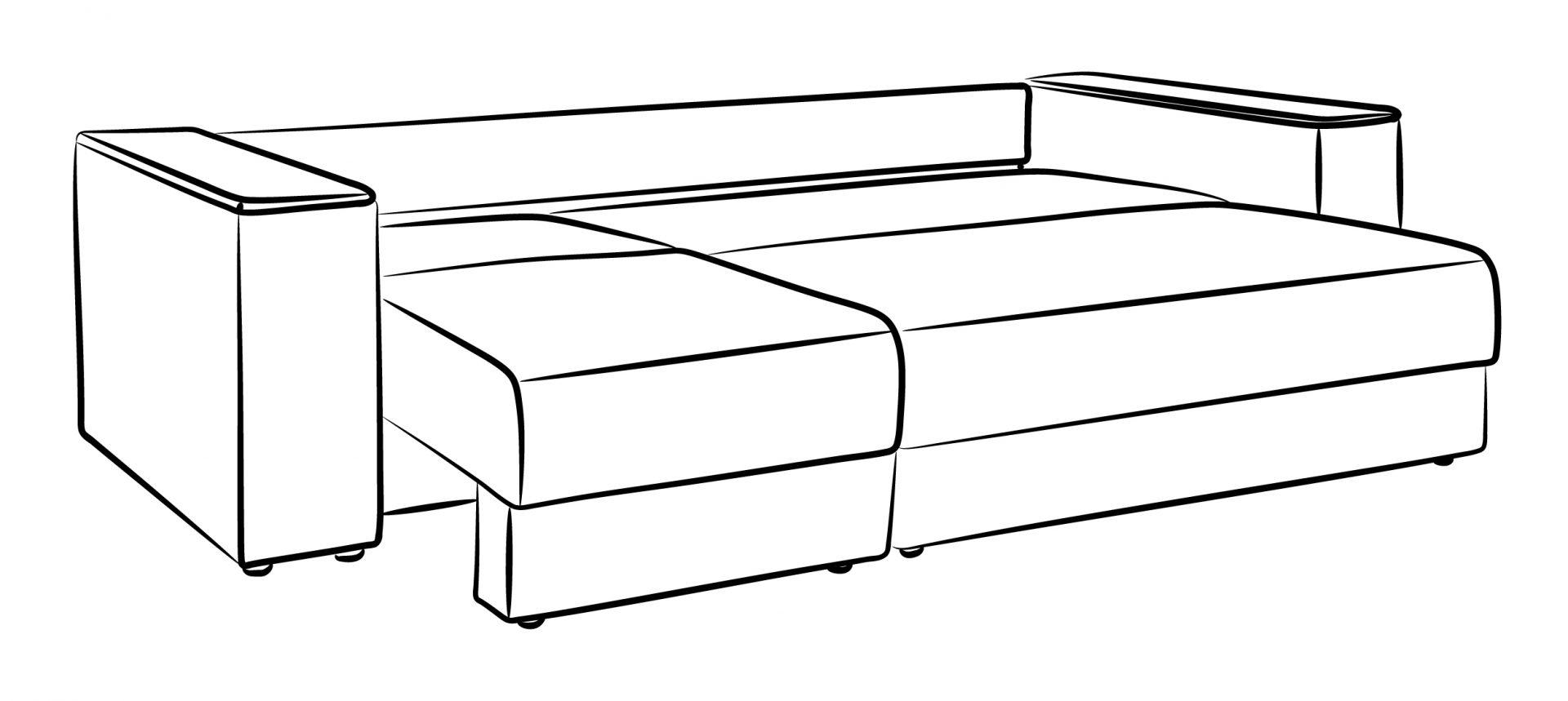 Денвер диван (Мебель Сервис)